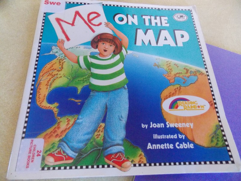 me on the map by joan sweeney a step book activity plain and not