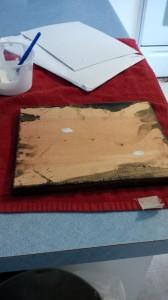 IMG 20141117 153109 168x300 Modge podge photos on wood a diy inexpensive photo hang