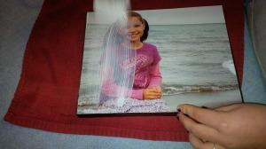 IMG 20141117 153138 300x168 Modge podge photos on wood a diy inexpensive photo hang