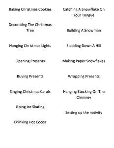 Christmas Charades.Christmas Charades Plain And Not So Plain
